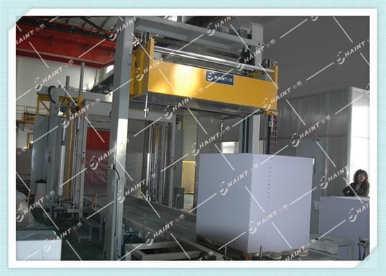 Automatic Pallet Wrapping Equipment 80 Rolls / H With Data Management System