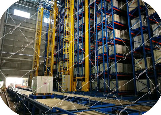 Intelligent Automated Storage Retrieval System , AS RS Automated Pallet Racking Systems