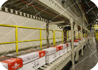 Chaint Palletizing Unit Load Conveyor 30 M / Min Speed With Automatic Robot